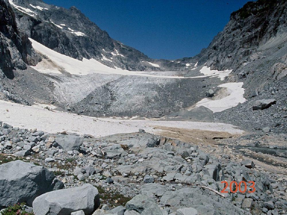 columbia glacier 2003