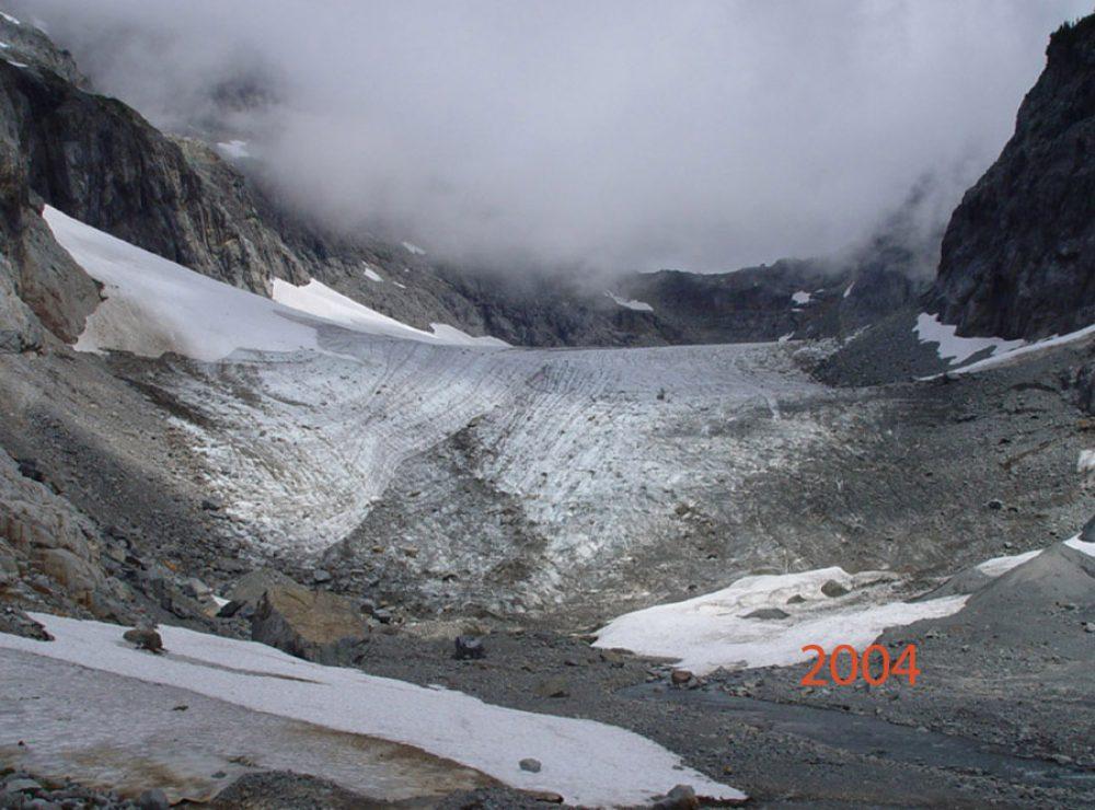 columbia glacier 2004